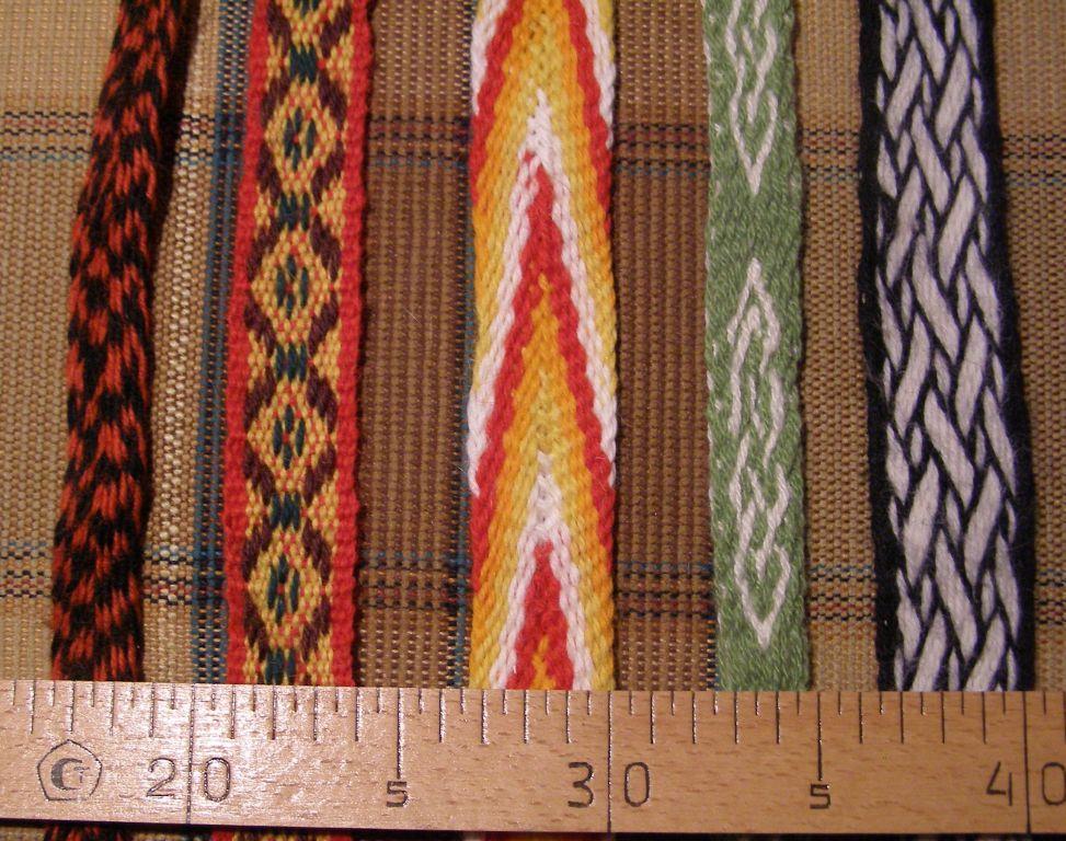 Плетение поясов и ремней